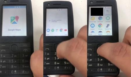 Un Android para 'feature phones' pero con los servicios de Google: así es la versión filtrada para teléfonos sin pantalla táctil