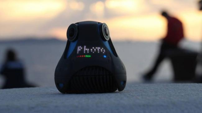 360cam, acción en 360 grados compatible con Oculus Rift