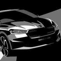 El nuevo Skoda Fabia llegará en mayo, recortando distancias con el Octavia, y se asoma en nuevos bocetos