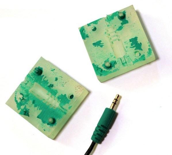 Podemos incluso utilizar moldes como estos para hacer un modelado de precisión