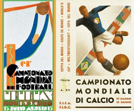 Los carteles de los Mundiales de Fútbol desde 1930, un viaje por la historia del diseño gráfico del siglo XX