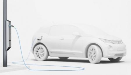 BMW quiere que cargues tu vehículo eléctrico en una farola
