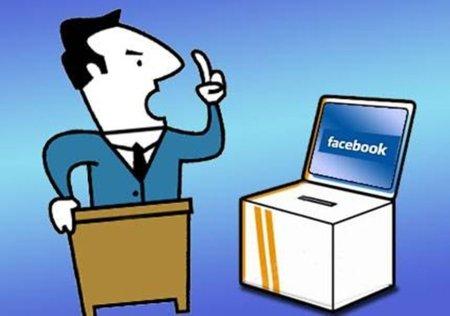 Los usuarios de Facebook castigan al PP