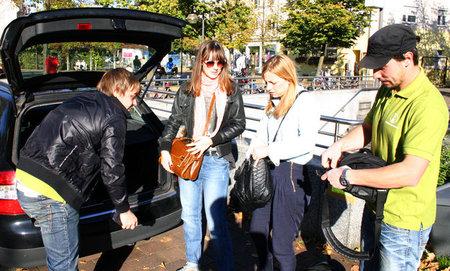 Plataformas de coche compartido: Carpooling