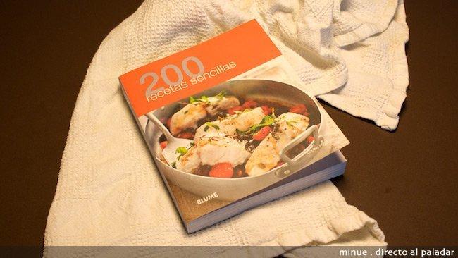 200 recetas sencillas - portada