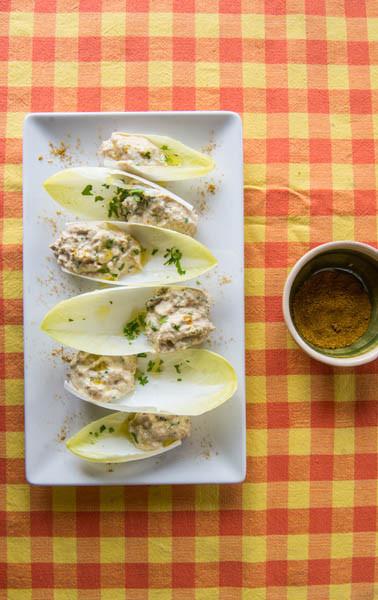 ensalada de endivias y atun al curry 2