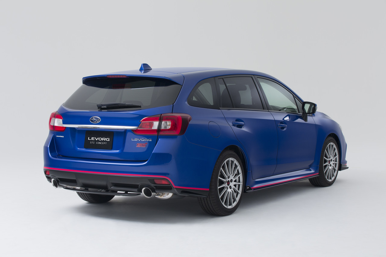 Foto de Subaru Levorg STI Concept (3/5)