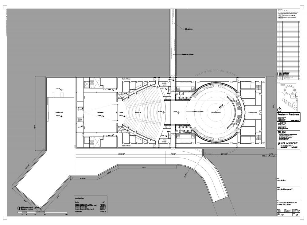 Proyecto original del nuevo campus de Apple