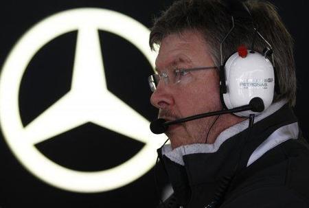 Ross Brawn: Schumacher está muy determinado