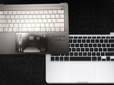 Se filtran fotos del que sería el nuevo MacBook Pro con panel táctil