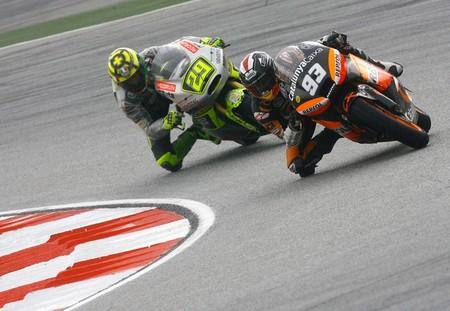 Marquez Iannone Moto2 2012