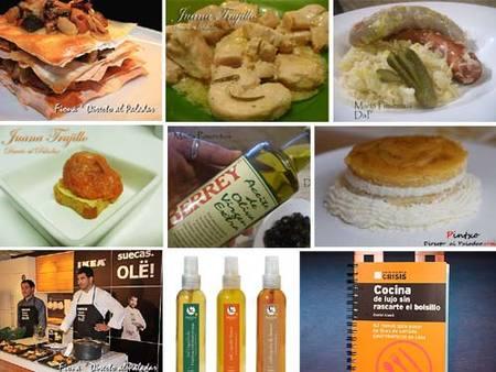 Menú semanal del 12 al 18 de octubre de 2009