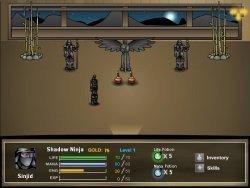 Sinjid: Shadow of the Warrior, RPG en Flash