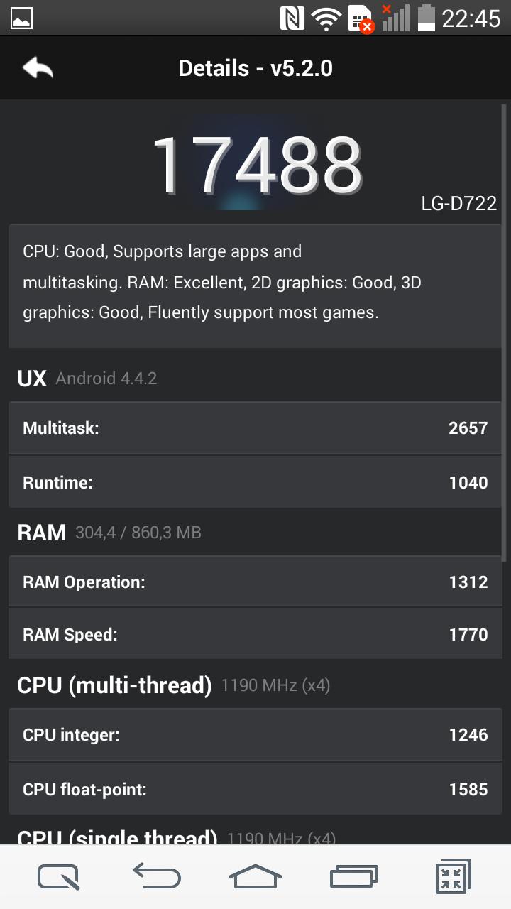 Foto de LG G3 S, benchmarks (5/28)