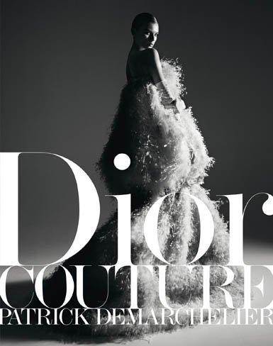 Dior Couture Patrick Demarchelier, alta costura en libro