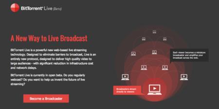 BitTorrent Live, la nueva plataforma de vídeo en streaming abre su beta al público