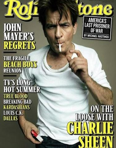 Charlie Sheen le sigue dando al alpiste que da gusto