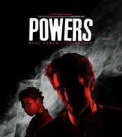 'Powers', contundente tráiler y elegante cartel de la serie de superhéroes de Playstation
