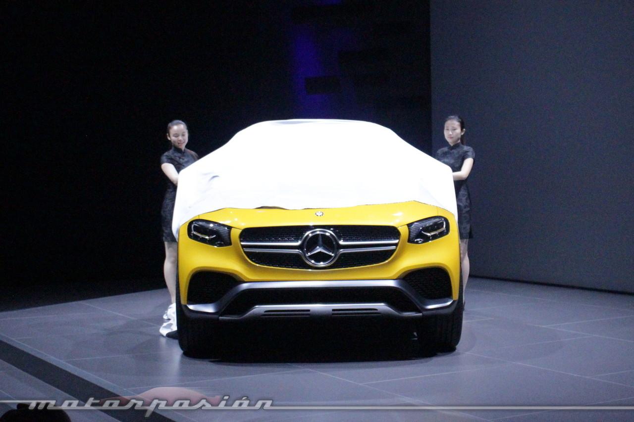 Foto de Mercedes-Benz Concept GLC Coupé (Premiere en Shangai) (10/26)