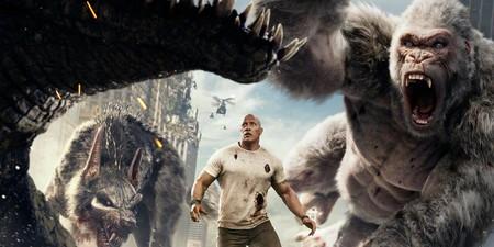 'Proyecto Rampage': una divertidísima orgía de destrucción que, además, marca un antes y un después en el cine de videojuegos
