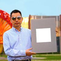 Se ha desarrollado una pintura tan blanca que refleja el 98,1% de la radiación solar y podría sustituir el aire acondicionado