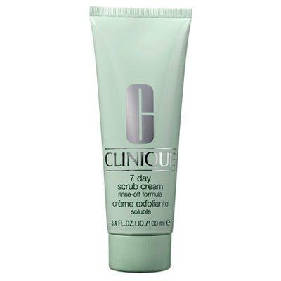 Probamos el exfoliante 7 day scrub cream de Clinique