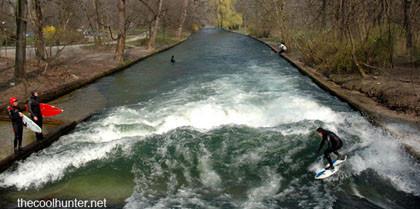 ¿Surf en Munich?