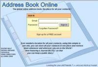 Address Book Online, otra opción para gestionar nuestros contactos desde Internet