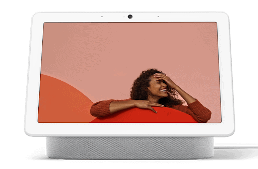"Pantalla inteligente con Asistente de Google - Google Nest Hub (2 Gen), 7"", Micrófono, WiFi, Bluetooth, Tiza"
