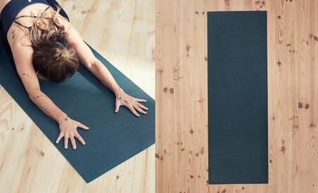 Decathlon Yoga 7Planta adherente gracias a los picos de silicona