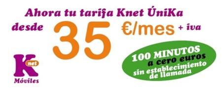 Knet refuerza su oferta convergente con una nueva opción por 35 euros al mes