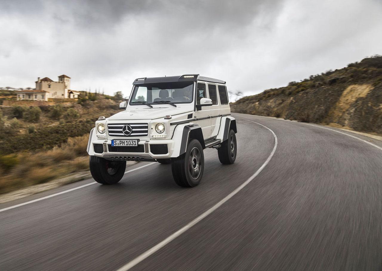 Foto de Mercedes-Benz G 500 4x4², toma de contacto (89/127)