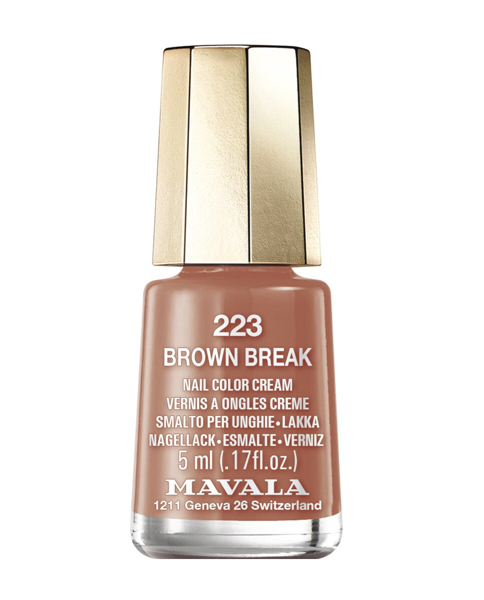 Esmalte de uñas Brown Break 223 Mavala Color