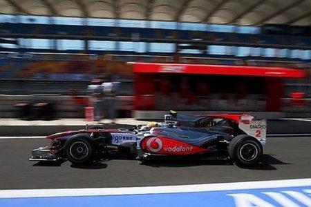 GP de Turquía 2010: Mejor tiempo para Lewis Hamilton en los primeros libres