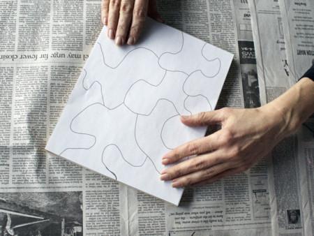 Puzzle Glue Stencil 2