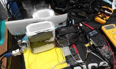 NVIDIA GeForce GTX 980 lo hace de nuevo, establece récord de overclock a 2.2GHz