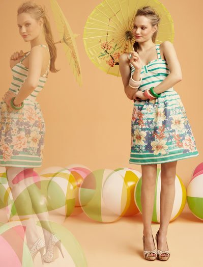 Vestidos Blanco, lookbook Verano 2011