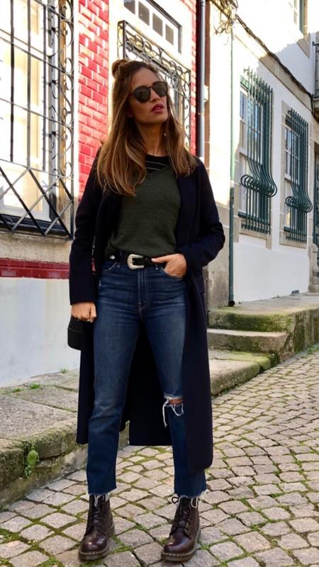 El medio top knot sigue siendo tendencia, palabra de Sara Carbonero
