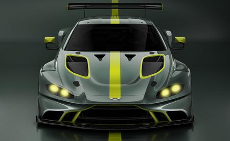Así luce el Aston Martin Vantage GT3 de competición en su primera imagen oficial