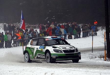 Jan Kopecký lidera el Jänner Rallye tras la primera etapa