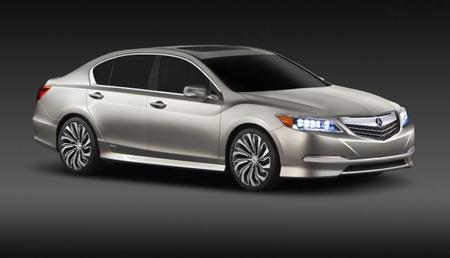 Salón de Nueva York: Acura RLX híbrido