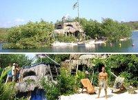 Richard Sowa: el hombre que se creó su propia isla con botellas y otros tinglados de plástico