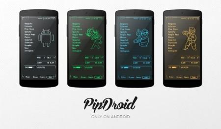 PipDroid, el tema de Pip-Boy para Android que te ayudará a esperar Fallout Shelter