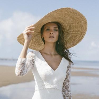 Vestidos de novia de manga larga para que el frío no desluzca tu boda