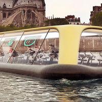 Este impresionante concepto de gimnasio flotante obtiene su energía de quienes entrenan en su interior