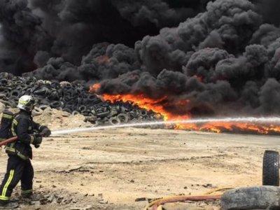 Incendio en Seseña: ¿Qué hacían 70.000 toneladas de neumáticos en un pueblo de Toledo?