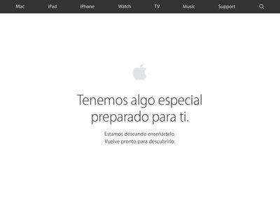 La Apple Store Online ya esta cerrada: pronto tendremos los nuevos productos a la venta