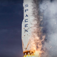 El vídeo en el que la Falcon 9 de Space X no logra volver con éxito a su plataforma [actualizado]