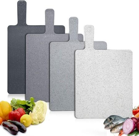 Tabla De Cortar Cocina Plastico 4 Unidades