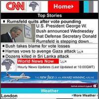 Rediseñada CNN Mobile